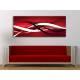 Red abstraction - absztrakt vászonkép 100424
