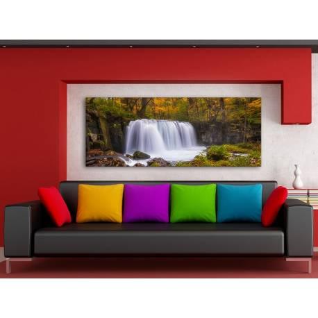 Natural Water Curtain - Vízesés Vászonkép 100455