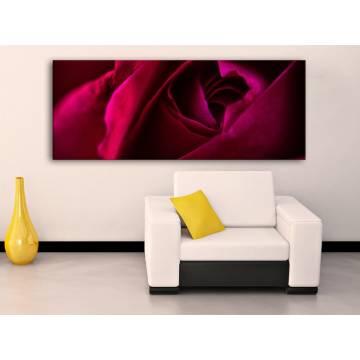Mystic Rose - Misztikus Vörös Rózsa - vászonkép 100468