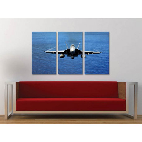 Három részes vászonkép - Supersonic 3a-100178