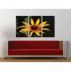 Három részes vászonkép - Yellow flower - sárga virág vászonkép 3a-100233