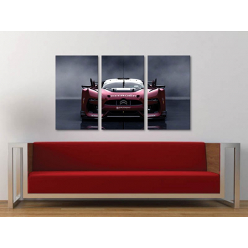 Három részes vászonkép - Citroen GT - autós vászonkép 3a-100413