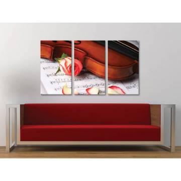 Három részes vászonkép - Romantic dreams - vászonkép 3a-100416
