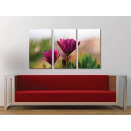 Három részes vászonkép - Purple color of nature - vászonkép - 3a-100445