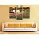 Három részes vászonkép - Spring garden - tavaszi kert vászonkép 3a-100328 - 2