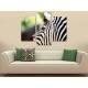Három részes vászonkép - Zebra pattern - zebra mintás vászonkép 3a-100362