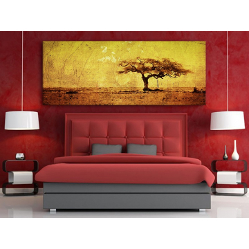 Vintage tree - antik fa vakrámás vászonkép - no. 100168