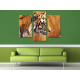 Három részes vászonkép - Tiger Watching - Tigris - vászonkép 3a-100484 - 2