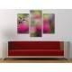 Három részes vászonkép - The Hummingbird - Kolibri - vászonkép 3a-100486 - 2