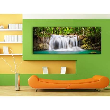 Beautyfull waterfall - vízesés vászonkép 100214