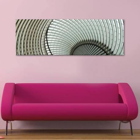 Absztract curves architecture - absztrakt ívek - vászonkép - 1