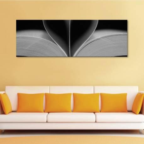 Open book - nyitott könyv - vászonkép