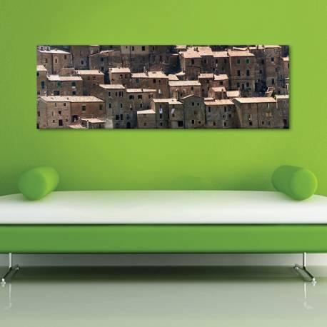 Sorano - vászonkép