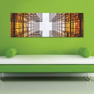 Architecture abstraction - absztrakt - vászonkép