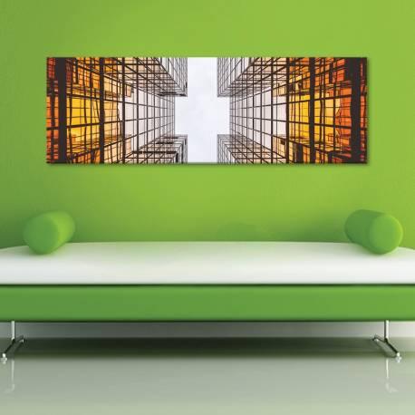 Architecture abstraction - absztrakt - vászonkép - 1