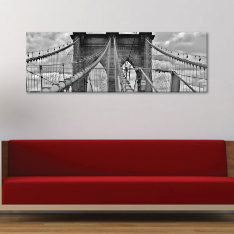Brooklyn bridge - vászonkép - 1