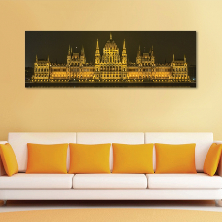 Hungarian parlament - vászonkép - 1