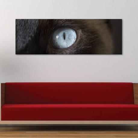 Cateye macskaszem - vászonkép - 1