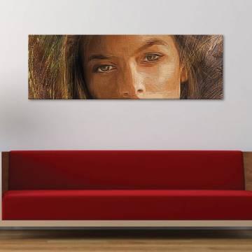 Painted beauty - vászonkép