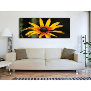 Yellow flower - sárga virág vászonkép 100233