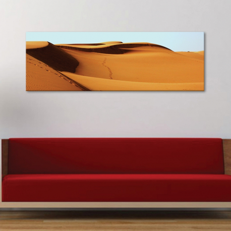 Golden dunes - sivatag - vászonkép