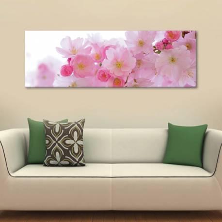 Pink blossom - rózsaszin virágzás - vászonkép - 1