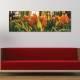 Tulips in the forest - erdei tulipánok vászonkép