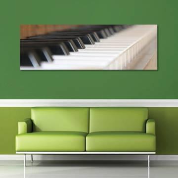 Play piano - zongora vászonkép