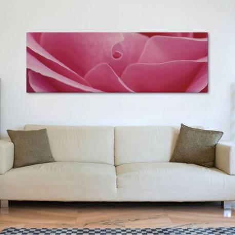 Petals - Rózsaszín szirmok vászonkép - 1