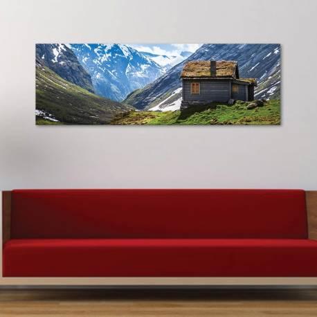 House betwen the mountains - védelmezõ hegyek vászonkép - 1