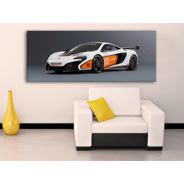 Racing - Mclaren 650 - vászonkép 100250
