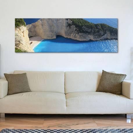 Wonderful seaside - mennyei tengerpart vászonkép