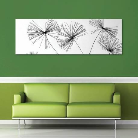 Thread dandelion - pittypang cérnából vászonkép - 1
