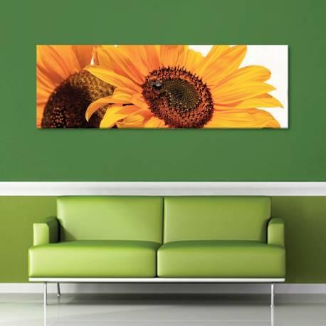Couple sunflower - napraforgó pár vászonkép - 1