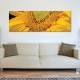 Macro sunflower - Napraforgó makró vászonkép - 1