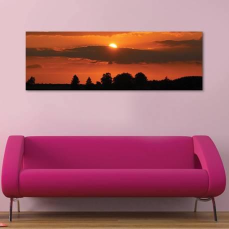 Hiding - bújócska naplemente vászonkép - 1