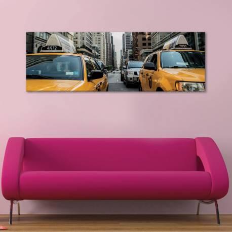 Yellow taxi - Sárga taxi vászonkép - 1