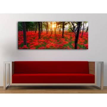 Forest flowers - erdei virágok vászonkép 100256