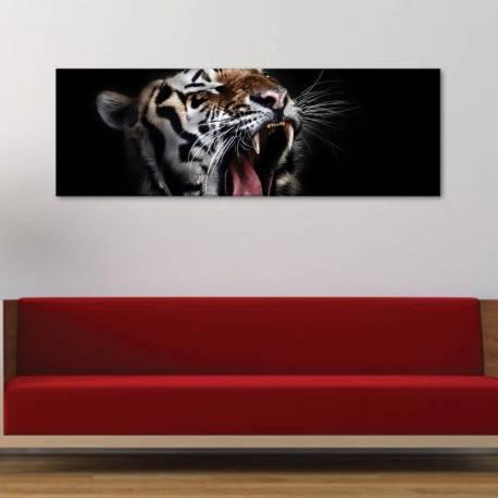 Yawning Tiger - Ásító tigris vászonkép - 1