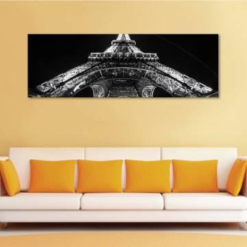 Under Eiffel tower - Eiffel torony alatt vászonkép