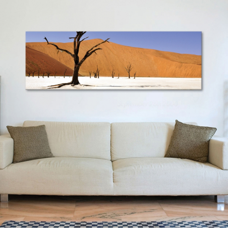 Dry trees - kiszáradt fák vászonkép - 1
