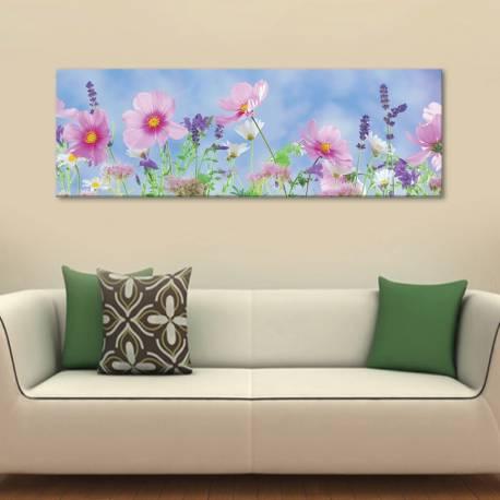Happy flowers - boldog virágok vászonkép - 1