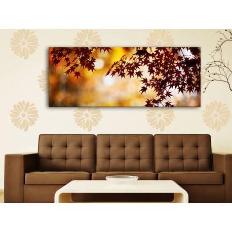 Braun leaves - őszi falevelek - vászonkép 100290