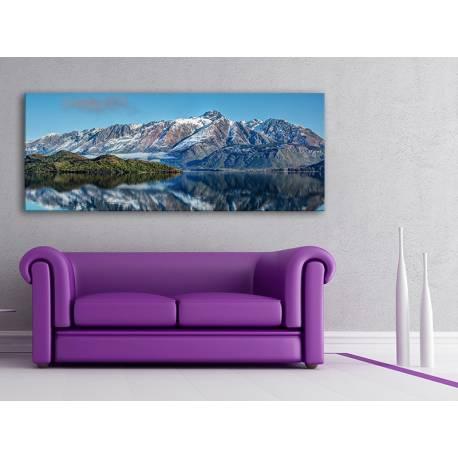 Mountain reflexion - tükröződő hegy - vászonkép 100295