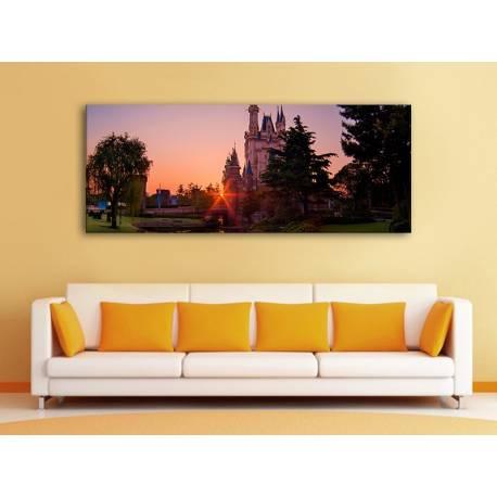 Castle in sunset - kastély a naplementében 100329
