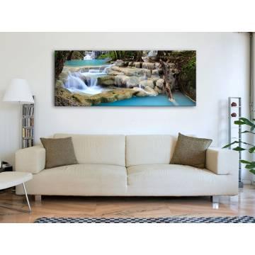 Crystal water - vízesés vászonkép 100334