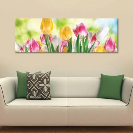 Smiling Tulips - Tulipánok - vászonkép