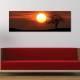 Mystical Sunset - Misztikus naplemente - vászonkép - 1