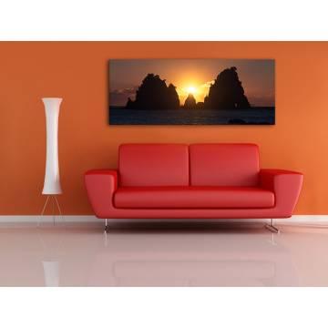 Glowing - izzás naplemente vászonkép 100367