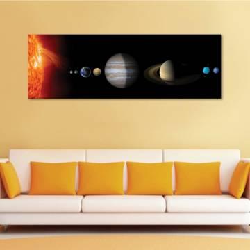 Solar System - Naprendszer - vászonkép